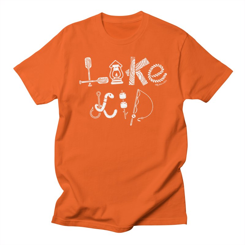 Lake Kid - Icons Men's T-Shirt by My Nature Side