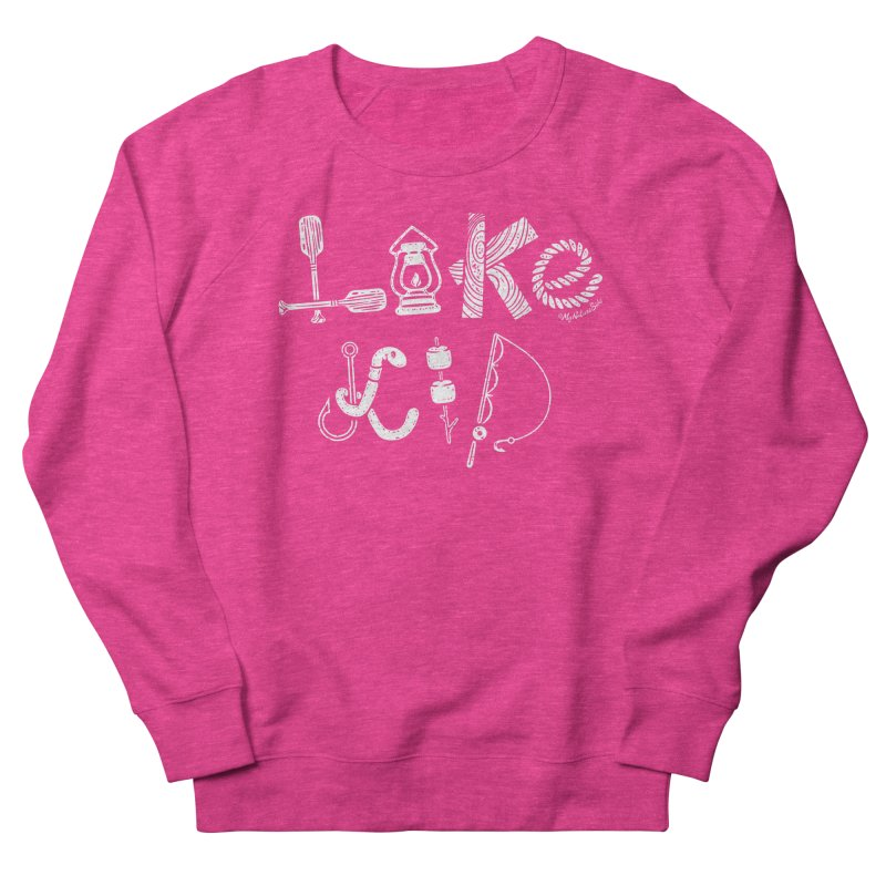 Lake Kid - Icons Women's French Terry Sweatshirt by My Nature Side