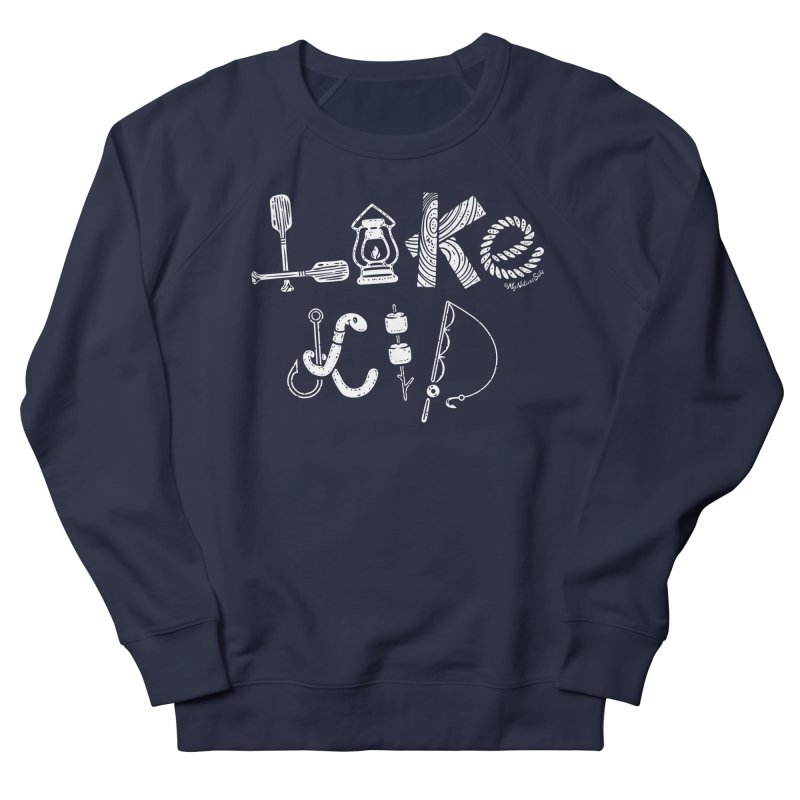 Lake Kid - Icons Men's French Terry Sweatshirt by My Nature Side