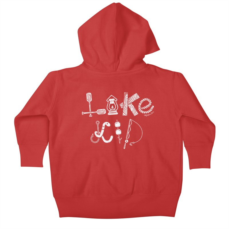 Lake Kid - Icons Kids Baby Zip-Up Hoody by My Nature Side