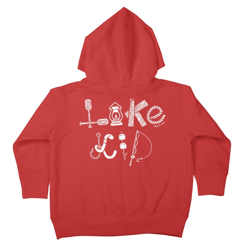 Lake Kid - Icons Kids Toddler Zip-Up Hoody by My Nature Side