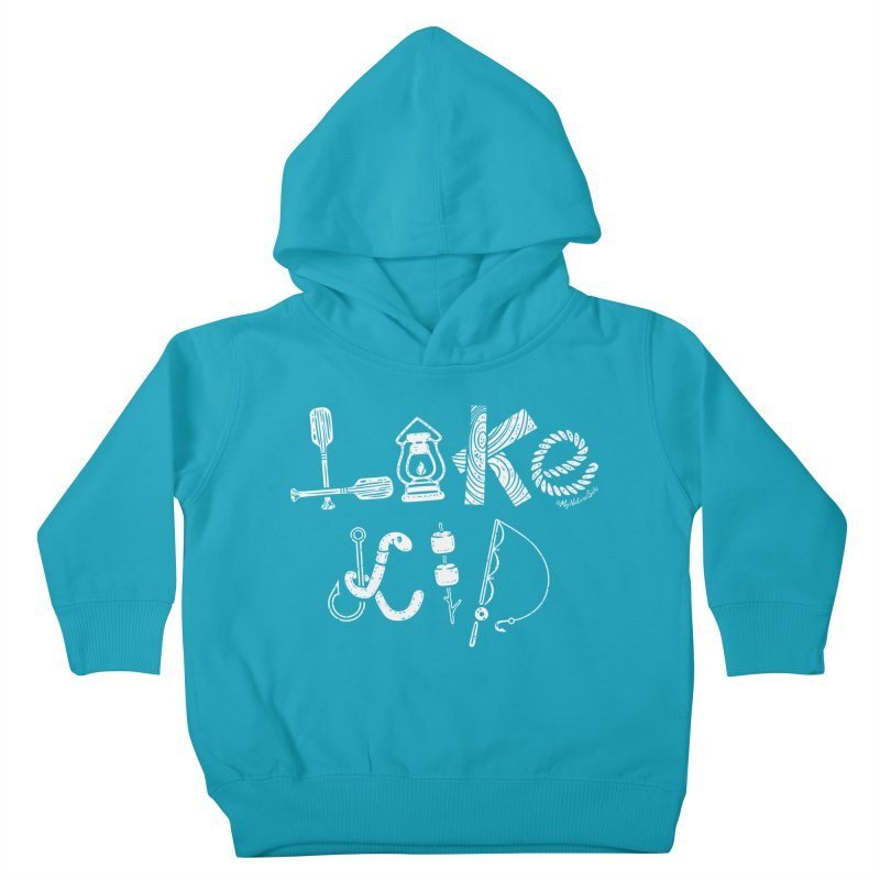 Lake Kid - Icons Kids Toddler Pullover Hoody by My Nature Side