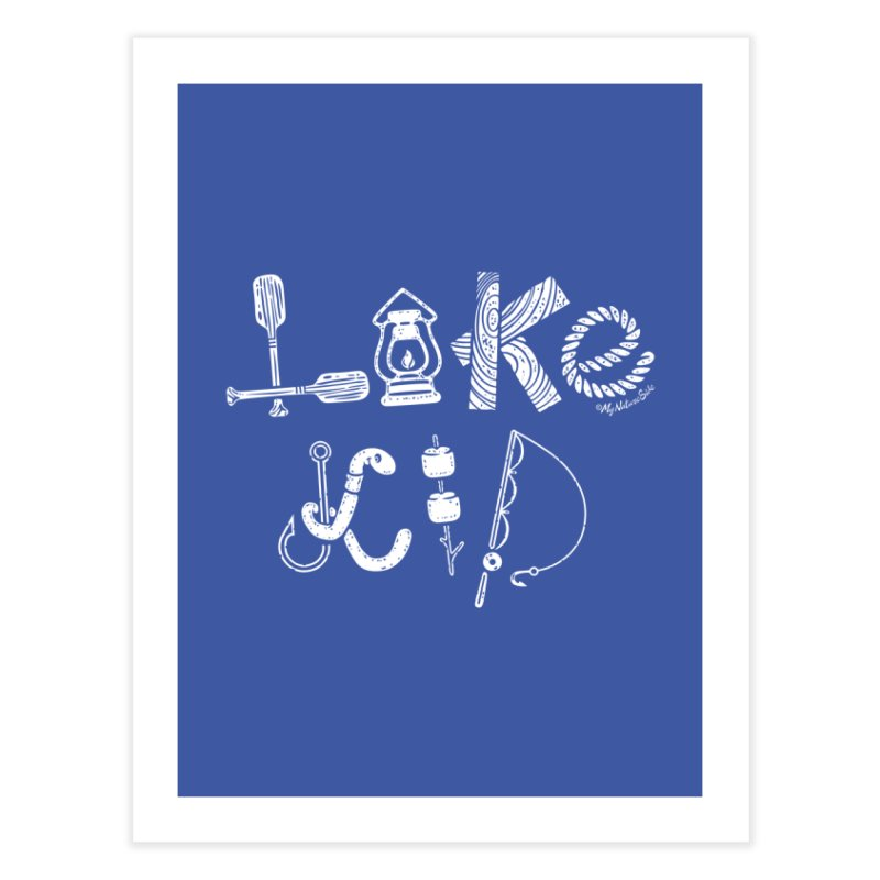 Lake Kid - Icons Home Fine Art Print by My Nature Side