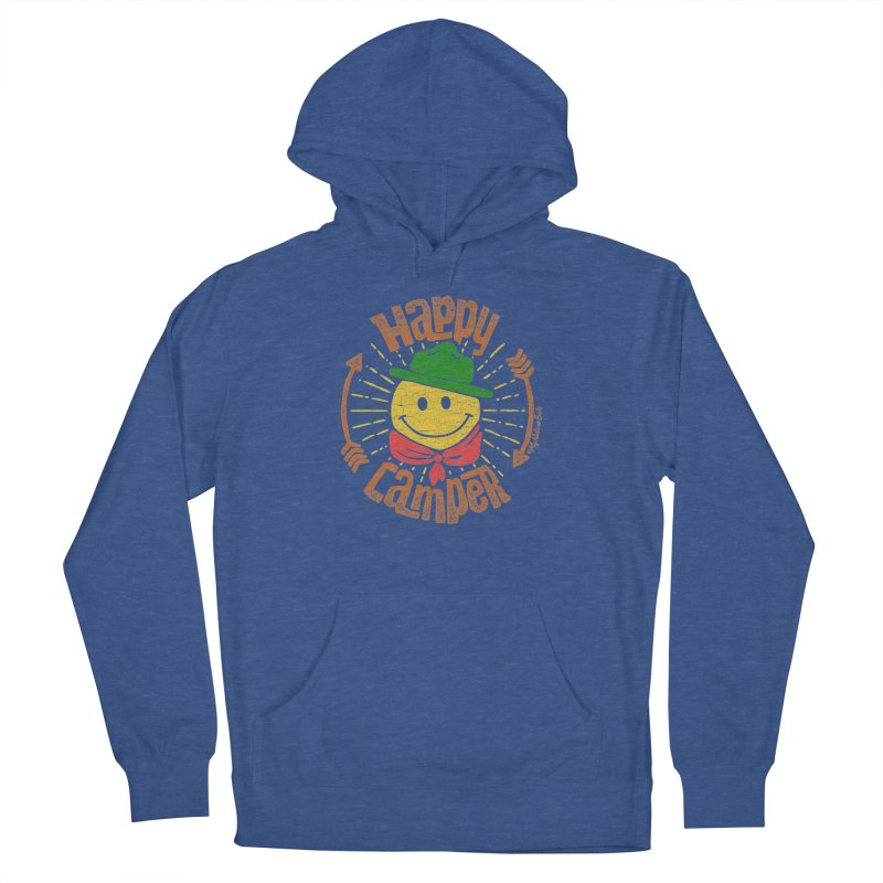 Happy Camper Women's Pullover Hoody by My Nature Side