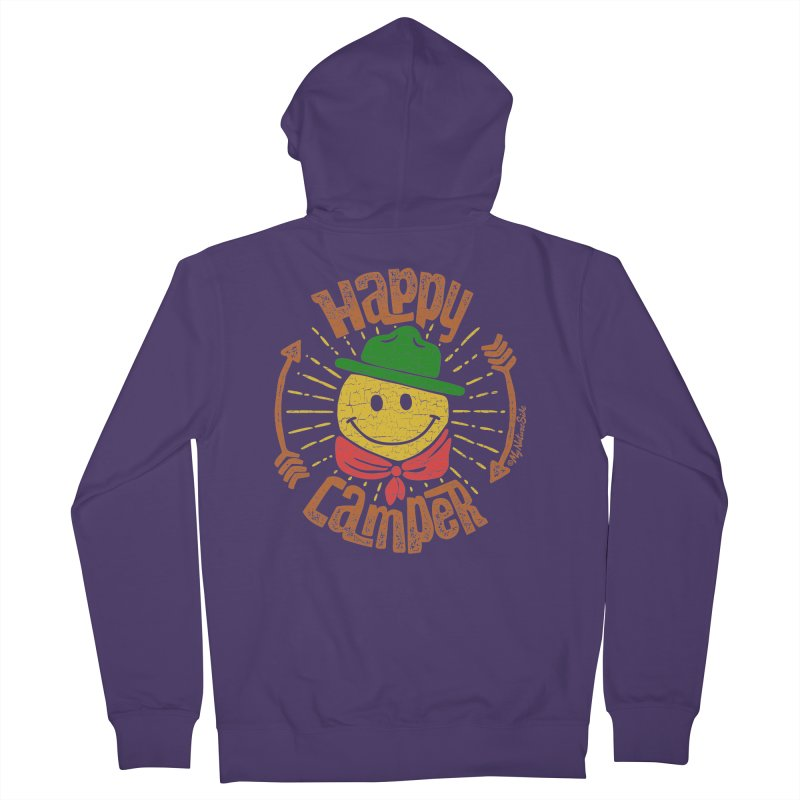 Happy Camper Women's Zip-Up Hoody by My Nature Side