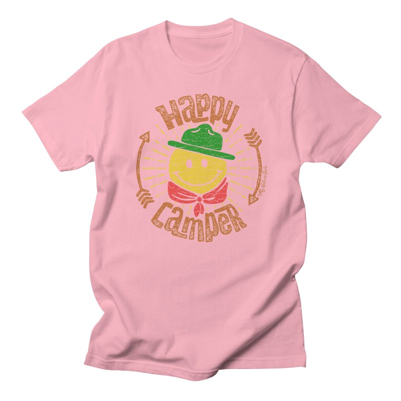 Happy Camper Men's T-Shirt by My Nature Side