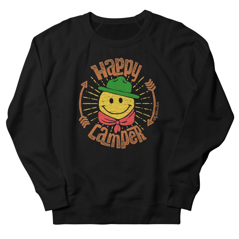 Happy Camper Men's Sweatshirt by My Nature Side