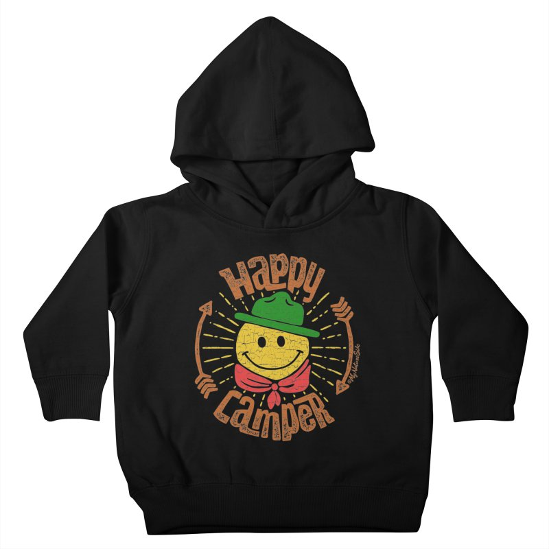 Happy Camper Kids Toddler Pullover Hoody by My Nature Side