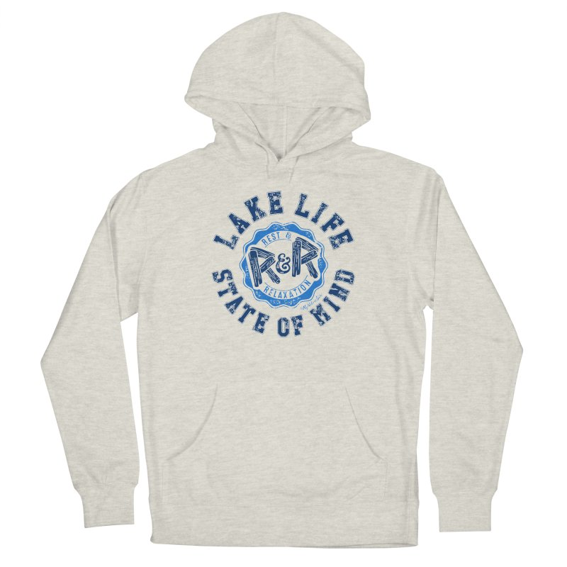 Lake Life State of Mind Women's Pullover Hoody by My Nature Side