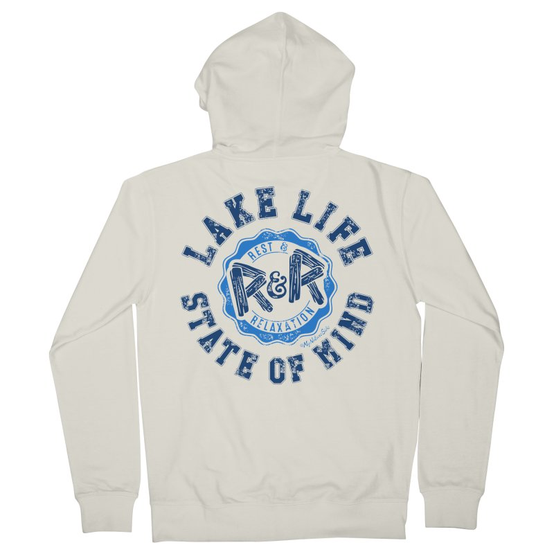 Lake Life State of Mind Women's French Terry Zip-Up Hoody by My Nature Side