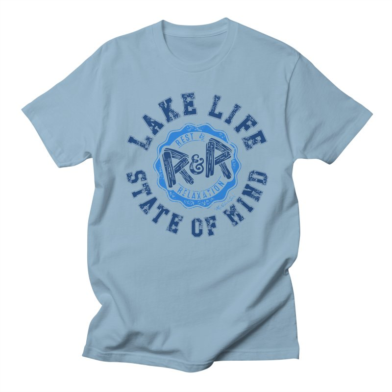 Lake Life State of Mind Men's T-shirt by My Nature Side
