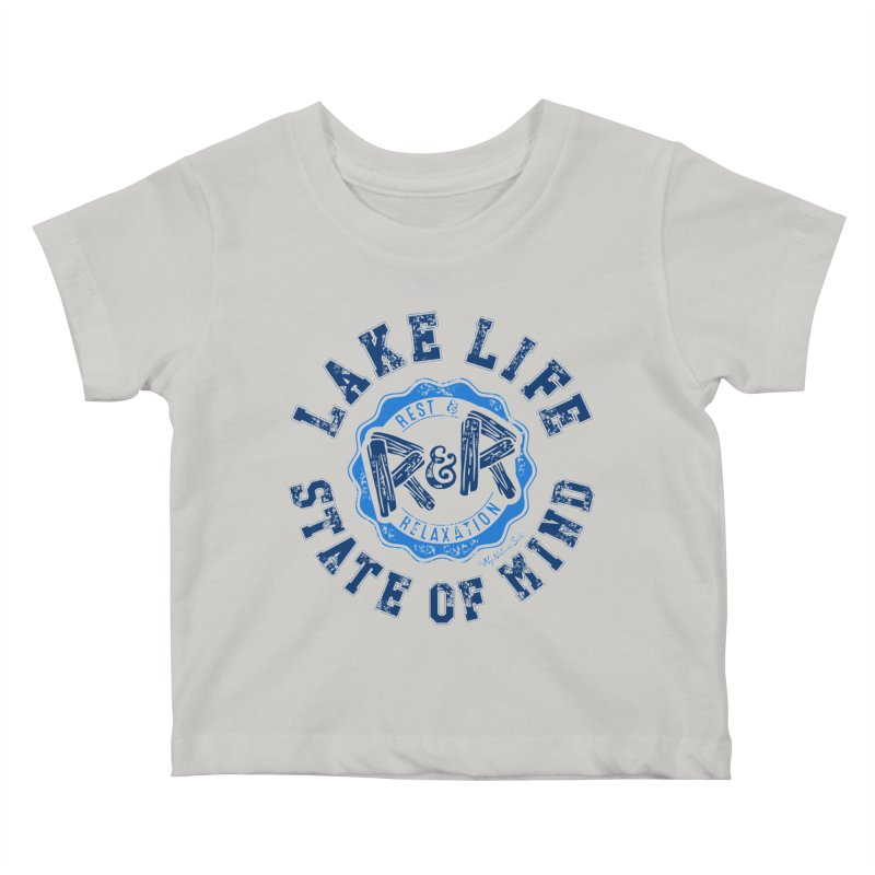 Lake Life State of Mind Kids Baby T-Shirt by My Nature Side