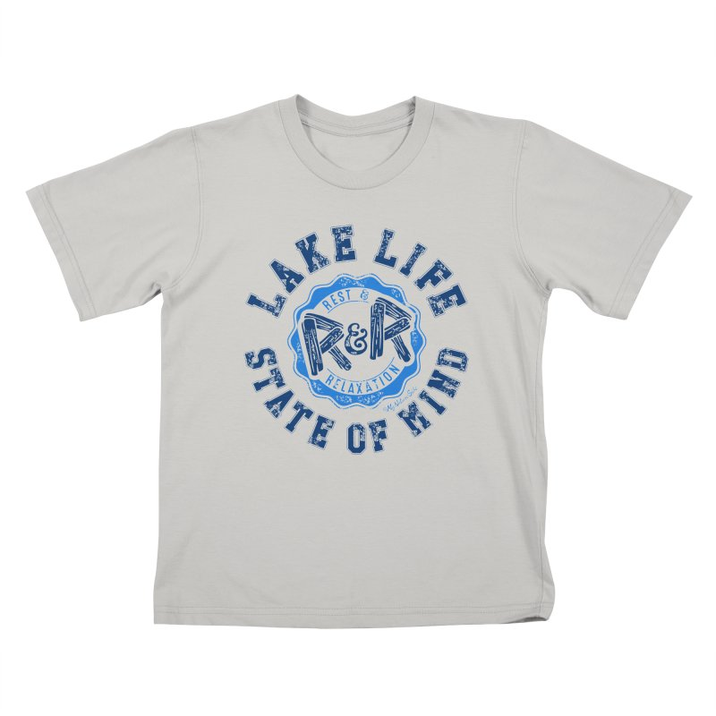 Lake Life State of Mind Kids T-shirt by My Nature Side