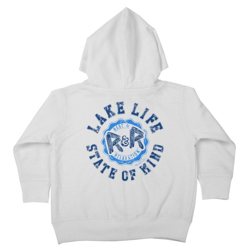 Lake Life State of Mind Kids Toddler Zip-Up Hoody by My Nature Side
