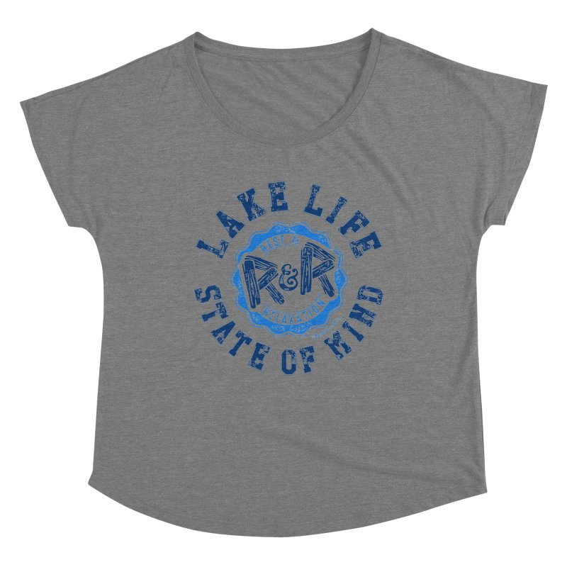 Lake Life State of Mind Women's Scoop Neck by My Nature Side