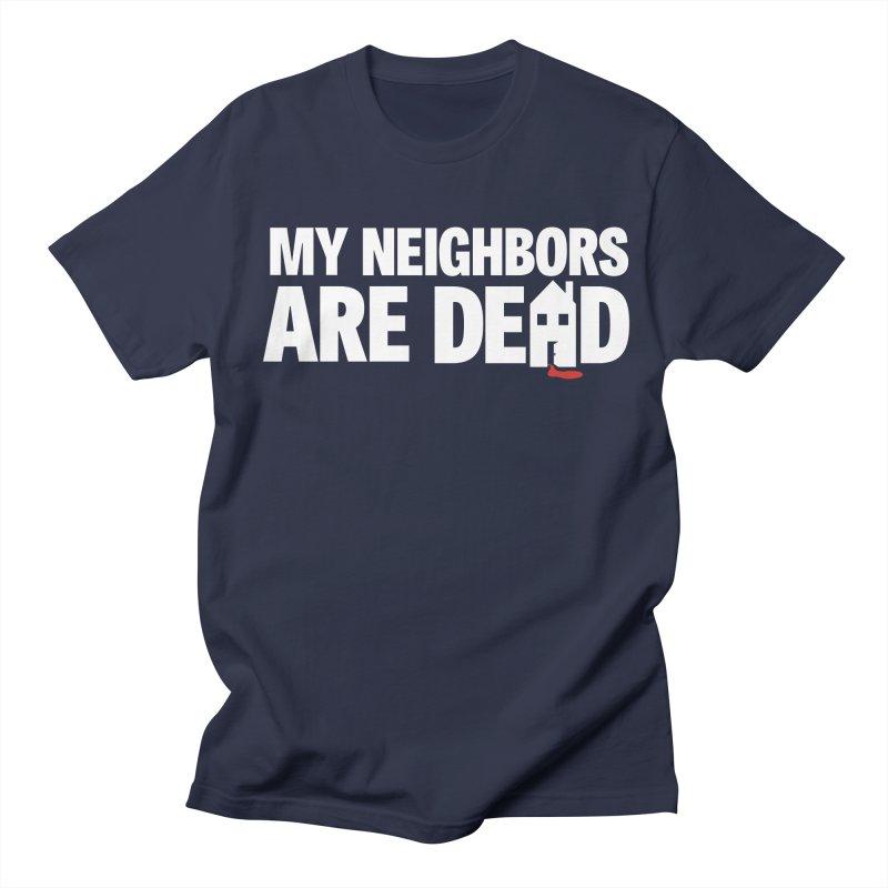 My Neighbors Are Dead Logo Tee in Men's Regular T-Shirt Navy by My Neighbors Are Dead Artist Shop