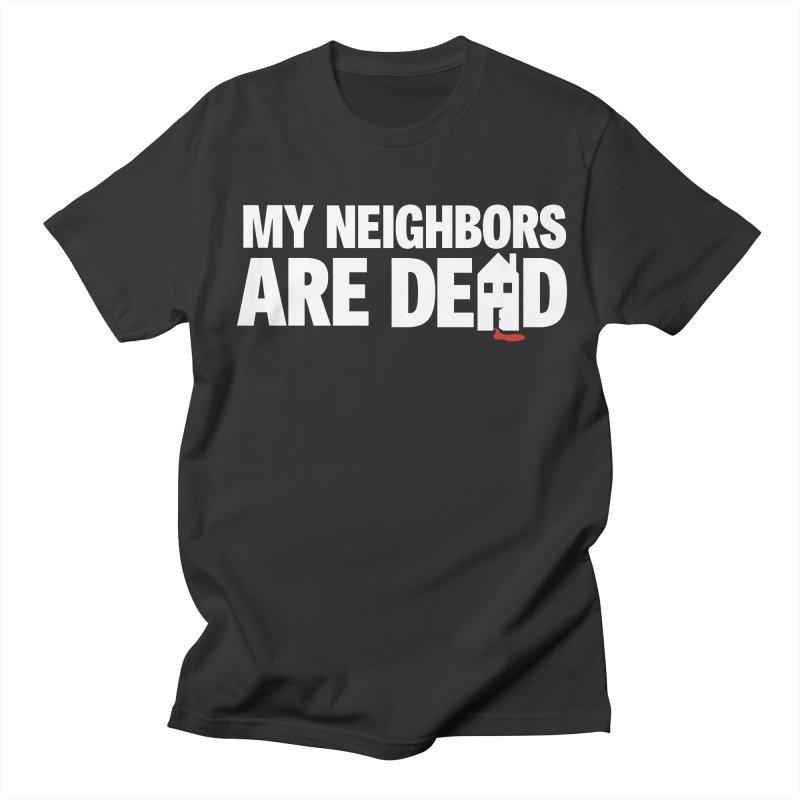 My Neighbors Are Dead Logo Tee in Men's Regular T-Shirt Smoke by My Neighbors Are Dead Artist Shop