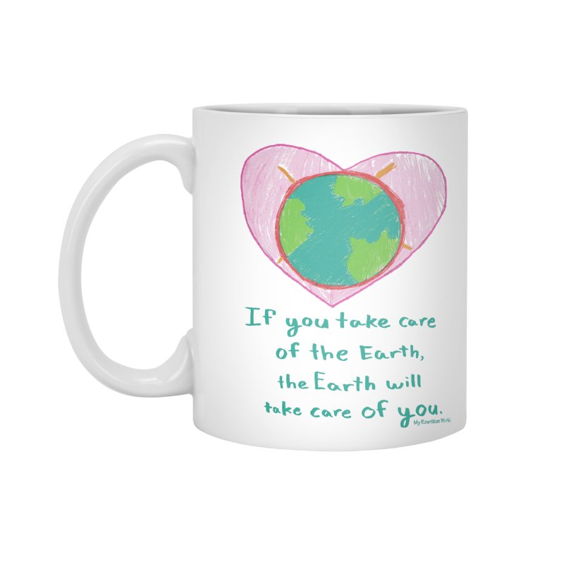 World Love Accessories Standard Mug by My Rewritten World Artist Shop