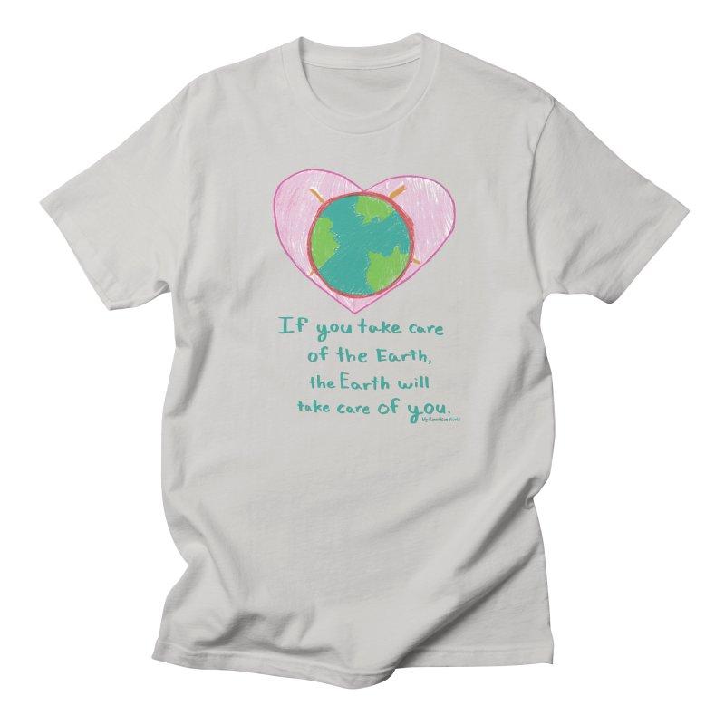 World Love Men's T-Shirt by My Rewritten World Artist Shop