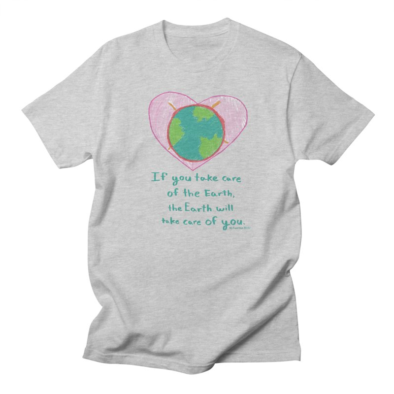 World Love Men's Regular T-Shirt by My Rewritten World Artist Shop