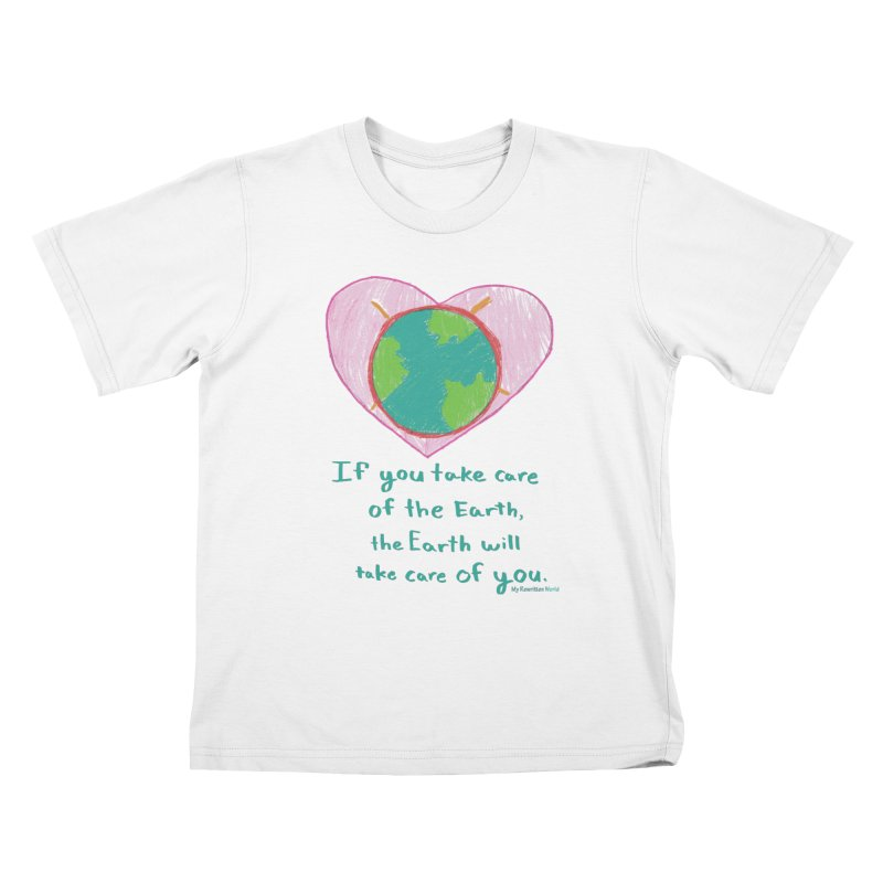 World Love Kids T-Shirt by My Rewritten World Artist Shop