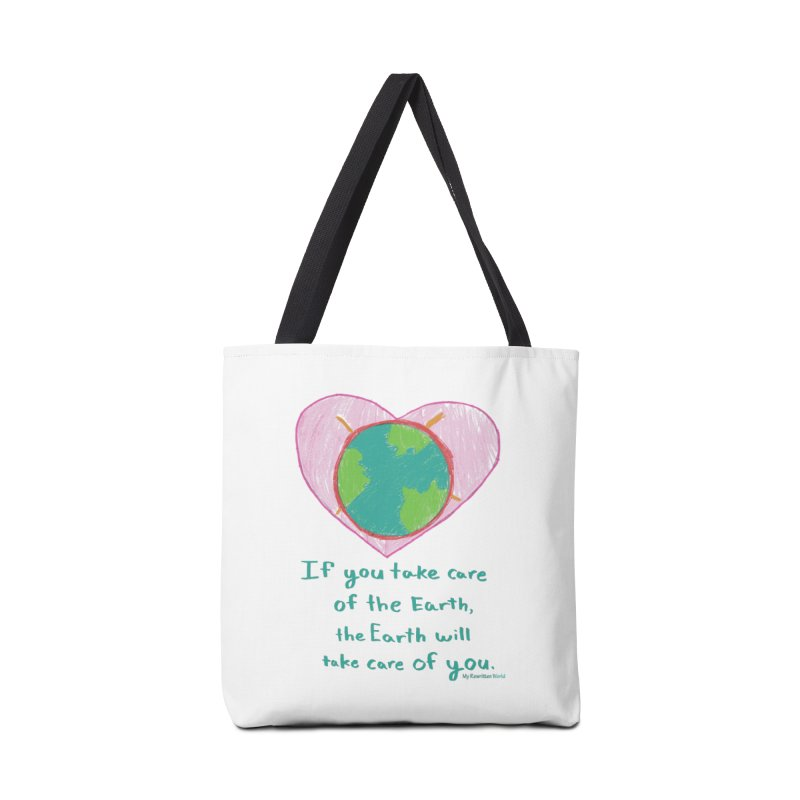World Love Accessories Bag by My Rewritten World Artist Shop