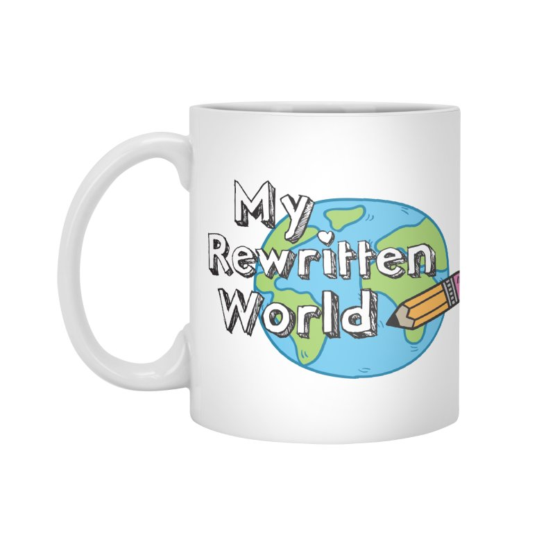 My Rewritten World logo Accessories Standard Mug by My Rewritten World Artist Shop