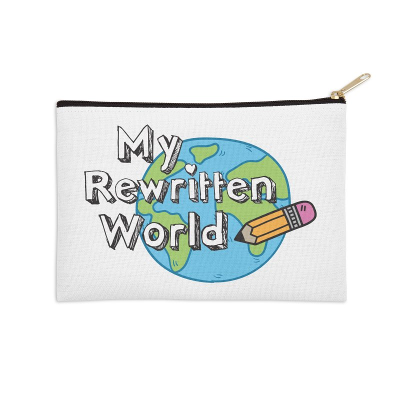 My Rewritten World logo Accessories Zip Pouch by My Rewritten World Artist Shop