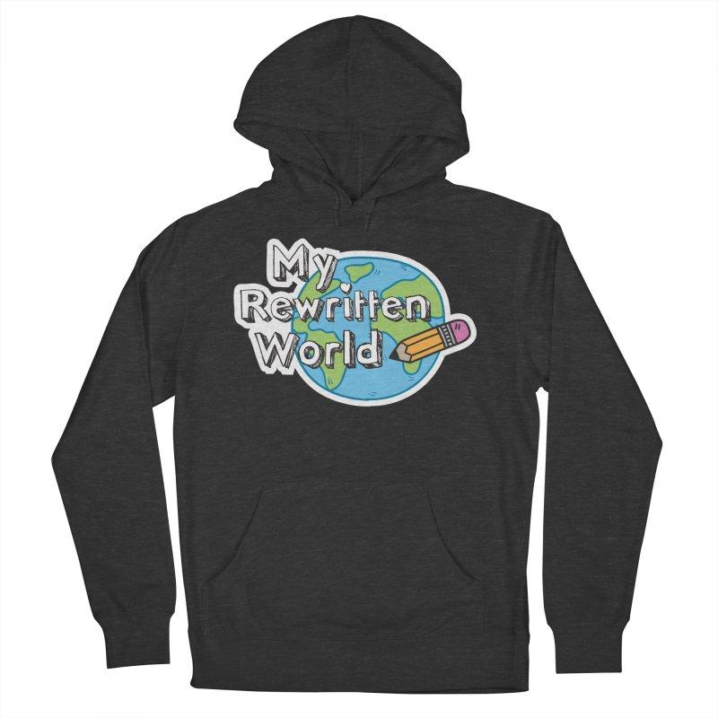 My Rewritten World logo Women's French Terry Pullover Hoody by My Rewritten World Artist Shop