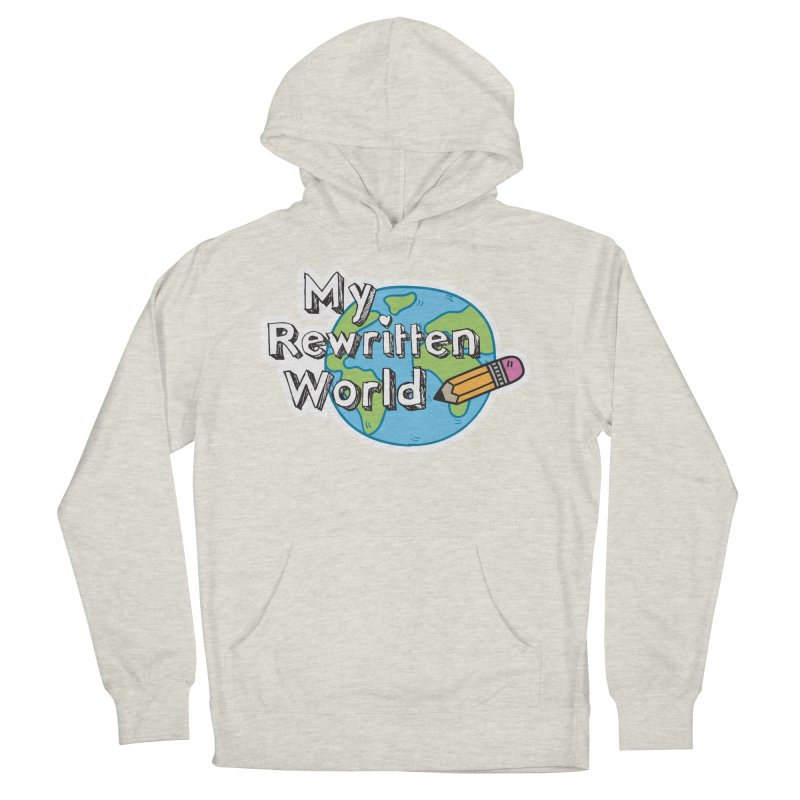 My Rewritten World logo Women's French Terry Pullover Hoody by My Rewritten World Artist Shop