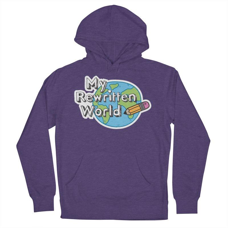 My Rewritten World logo Men's French Terry Pullover Hoody by My Rewritten World Artist Shop