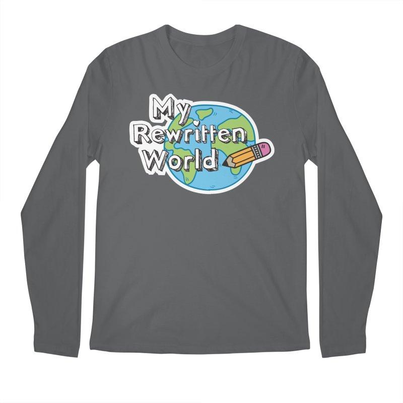 My Rewritten World logo Men's Regular Longsleeve T-Shirt by My Rewritten World Artist Shop