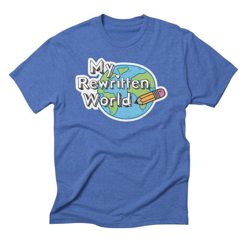 My Rewritten World logo Men's Triblend T-Shirt by My Rewritten World Artist Shop