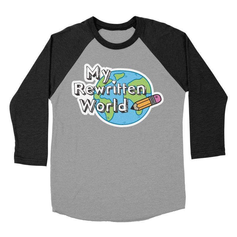 My Rewritten World logo Women's Baseball Triblend Longsleeve T-Shirt by My Rewritten World Artist Shop