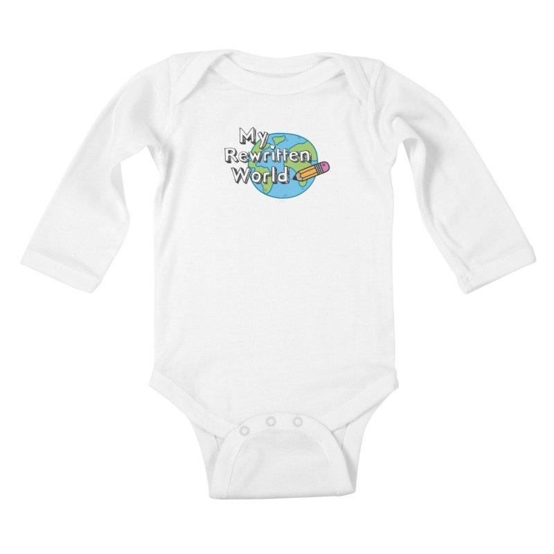 My Rewritten World logo Kids Baby Longsleeve Bodysuit by My Rewritten World Artist Shop