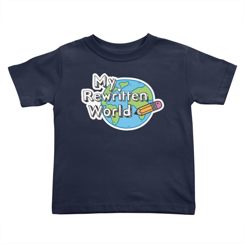 My Rewritten World logo Kids Toddler T-Shirt by My Rewritten World Artist Shop