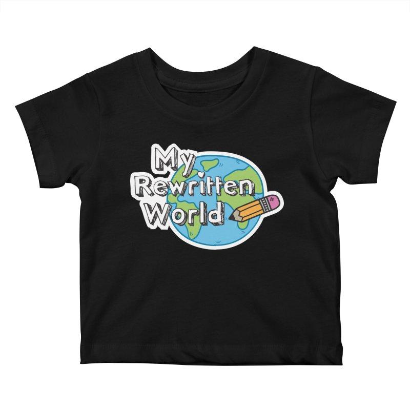 My Rewritten World logo Kids Baby T-Shirt by My Rewritten World Artist Shop