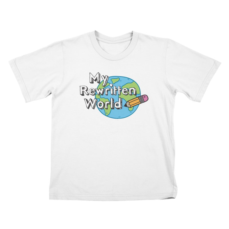 My Rewritten World logo Kids T-Shirt by My Rewritten World Artist Shop
