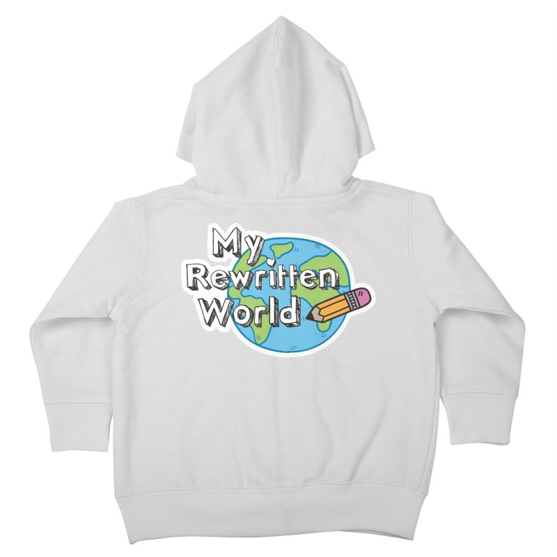 My Rewritten World logo Kids Toddler Zip-Up Hoody by My Rewritten World Artist Shop