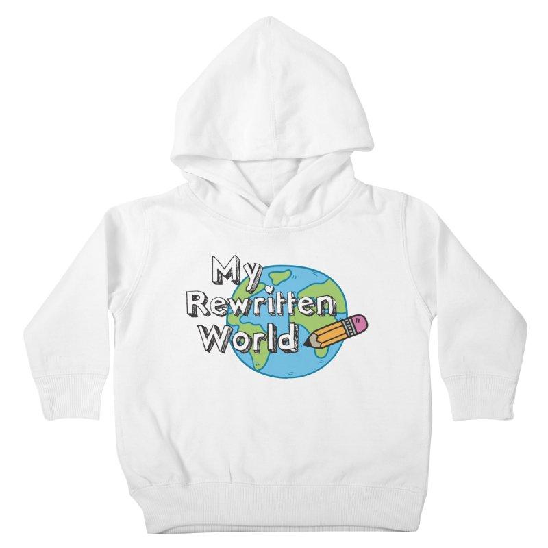 My Rewritten World logo Kids Toddler Pullover Hoody by My Rewritten World Artist Shop