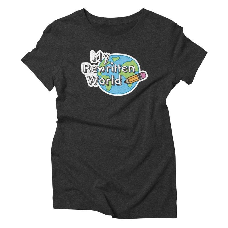 My Rewritten World logo Women's Triblend T-Shirt by My Rewritten World Artist Shop