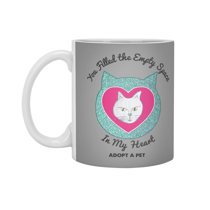 Adopt a Cat Accessories Standard Mug by My Rewritten World Artist Shop