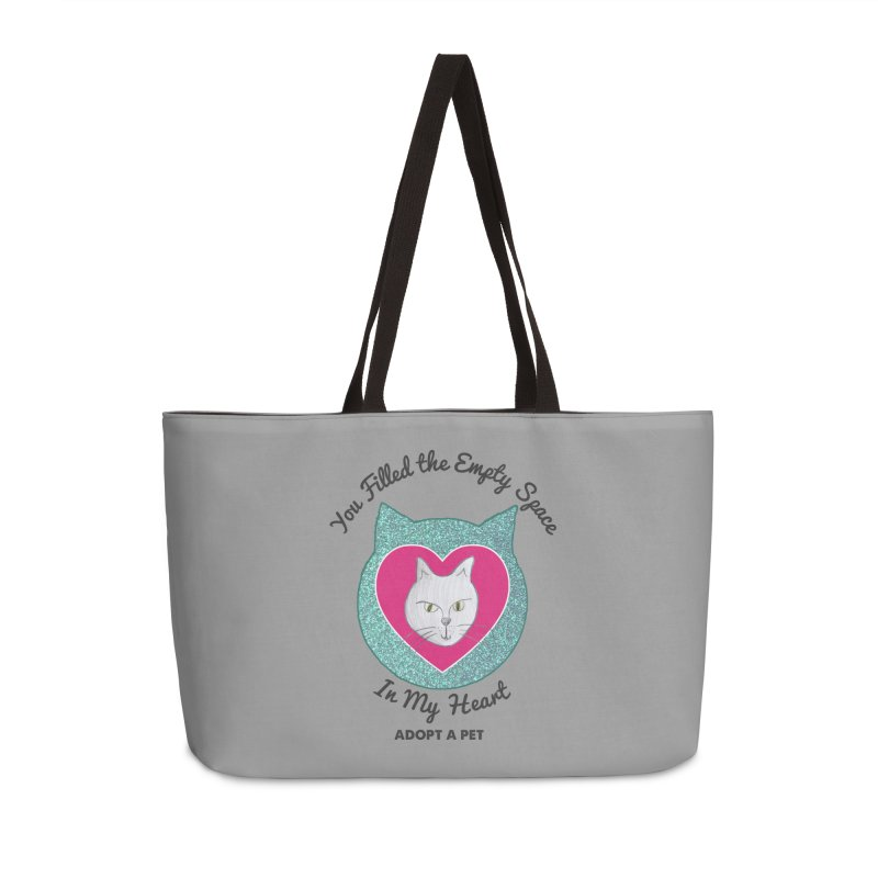 Adopt a Cat Accessories Weekender Bag Bag by My Rewritten World Artist Shop