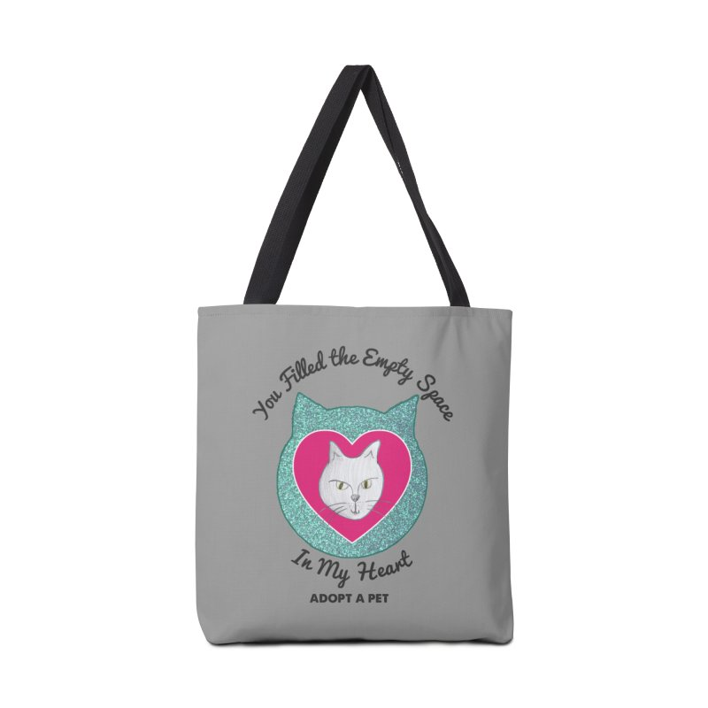 Adopt a Cat Accessories Tote Bag Bag by My Rewritten World Artist Shop