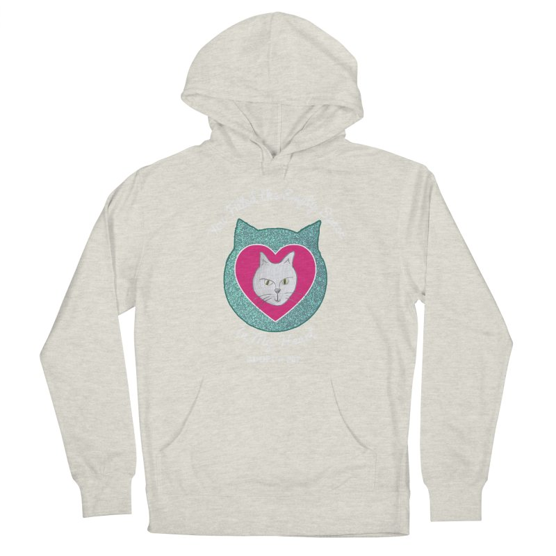 Adopt a Cat Women's French Terry Pullover Hoody by My Rewritten World Artist Shop