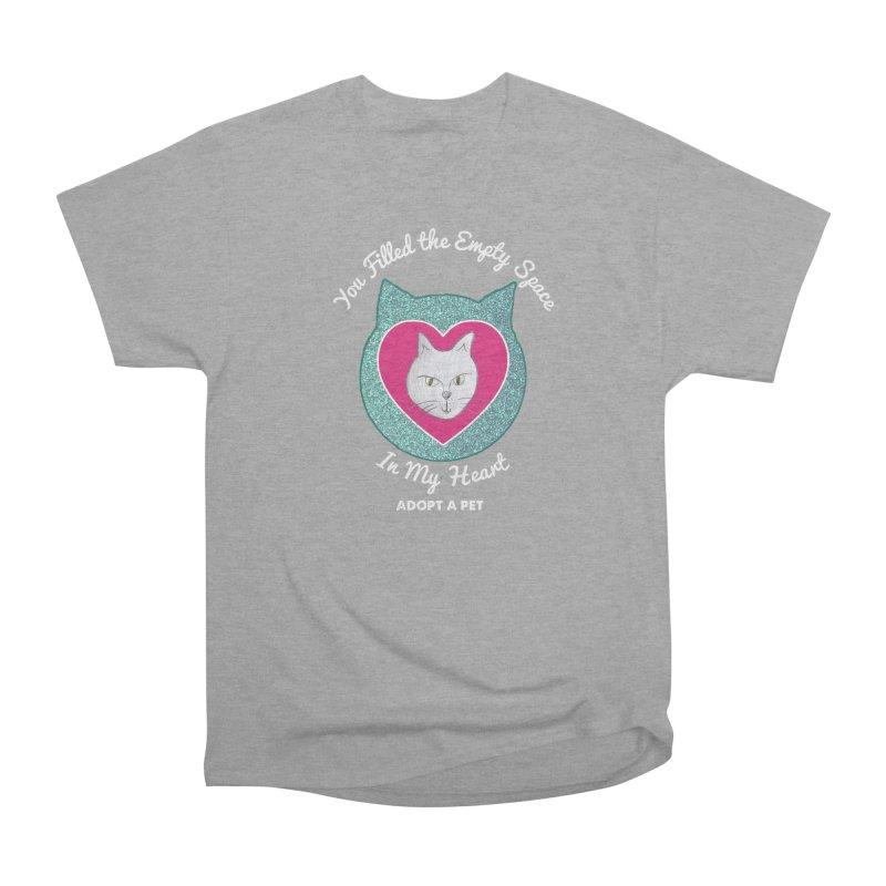 Adopt a Cat Men's Heavyweight T-Shirt by My Rewritten World Artist Shop