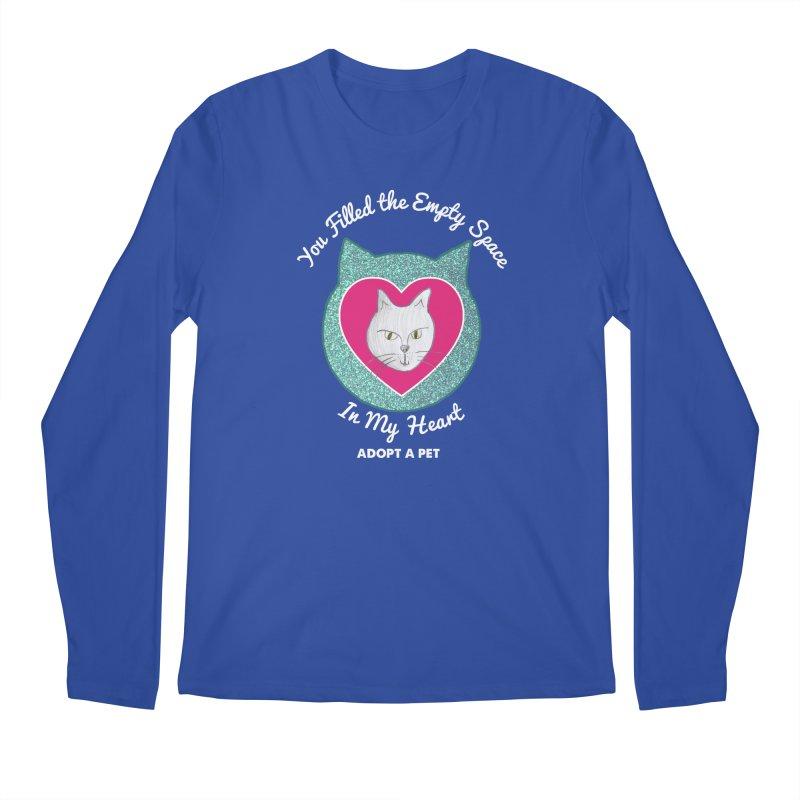 Adopt a Cat Men's Regular Longsleeve T-Shirt by My Rewritten World Artist Shop