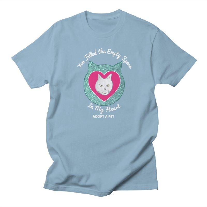 Adopt a Cat Men's Regular T-Shirt by My Rewritten World Artist Shop