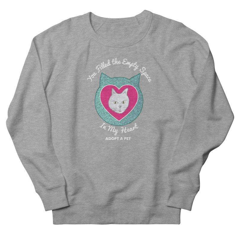 Adopt a Cat Men's French Terry Sweatshirt by My Rewritten World Artist Shop