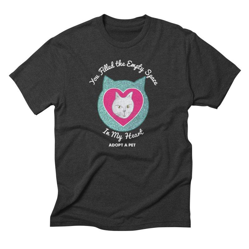 Adopt a Cat Men's Triblend T-Shirt by My Rewritten World Artist Shop